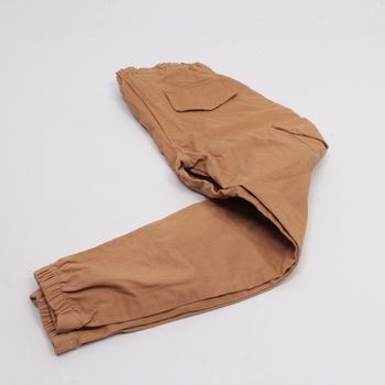 Pánské plátěné kalhoty lemy do gumy