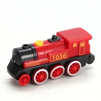 Lokomotiva Eichhorn 1036 červená