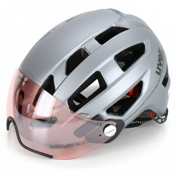 Cyklistická helma Uvex S410977 Finale Visor