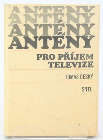 Kniha Tomáš Český: Antény pro příjem televize