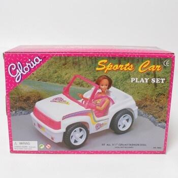 Sportovní auto pro panenky Gloria
