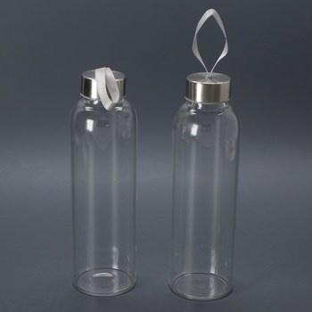 Láhve na pití skleněné s poutkem