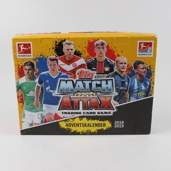 Adventní kalendář Bundesliga Match Attax