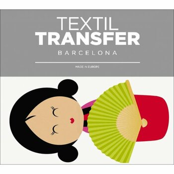 Obtisk na textil Decorprint 13053-TB gejša