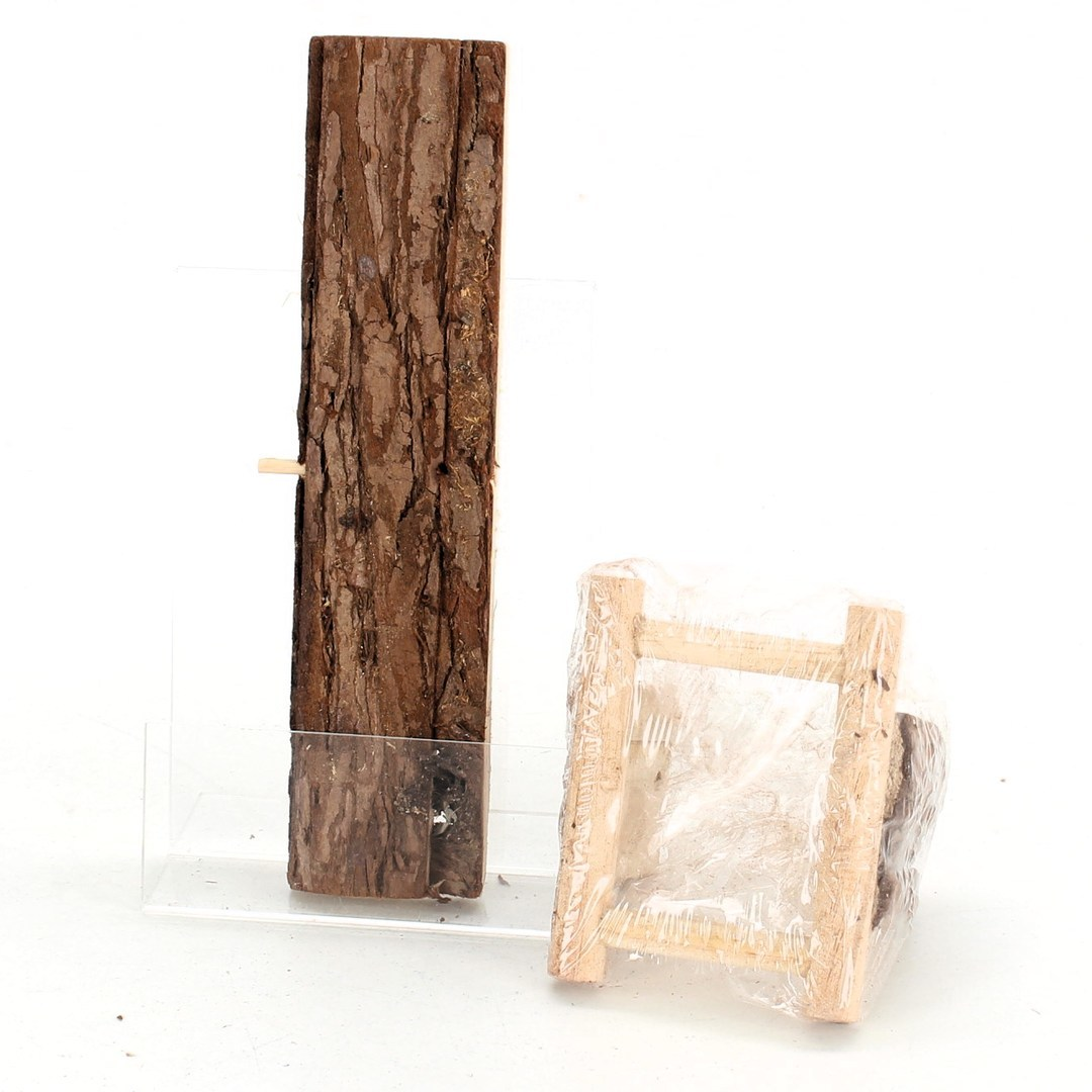 Dřevěná prolézačka pro hlodavce Trixie Wippe