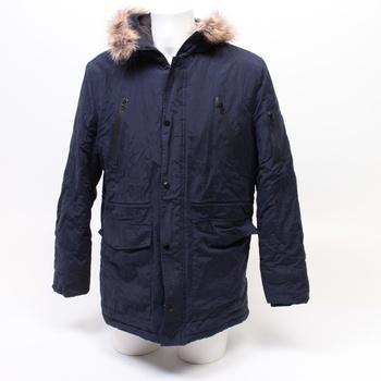 Pánská bunda značky Find modré barvy