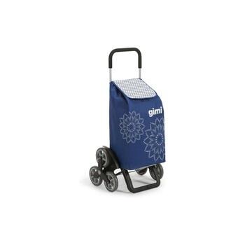 Taška na kolečkách Gimi Tris Floral modrá