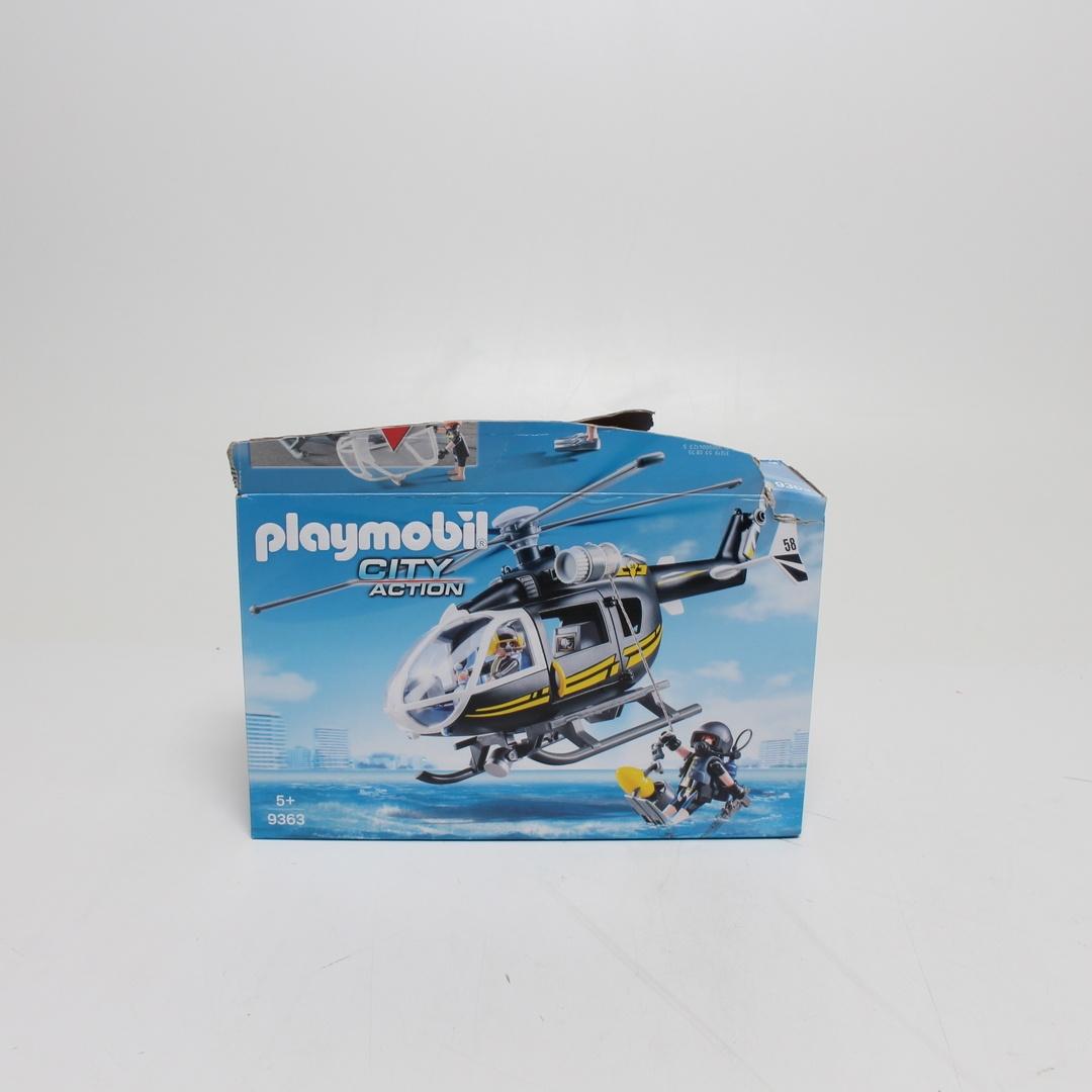 Lego helikoptéra Playmobil 9363