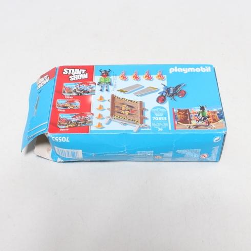 Kaskadérská show Playmobil 70553