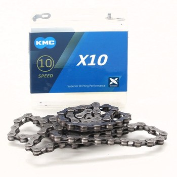 Řetěz na kolo KMC X10 Chain Grey