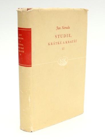 Kniha J. Neruda: Studie krátké a kratší II