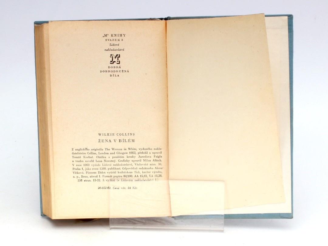 Kniha Wilkie Collins: Žena v bílém