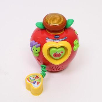 Jablíčko s červíkem Vtech Überraschungsapfel