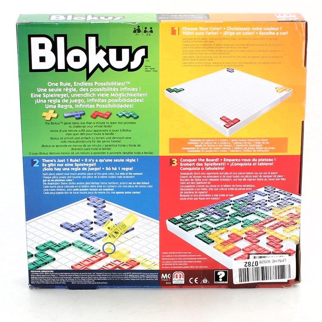 Abstraktní hra Mattel Blokus