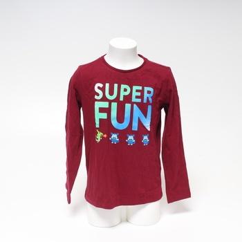 Dětské tričko s.Oliver červené