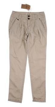 Dámské plátěné kalhoty Timeout  béžové