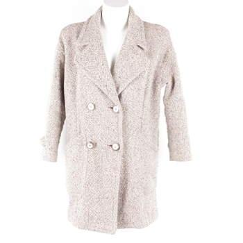 487f410171 Dámský kabát ZARA odstín hnědé - bazar