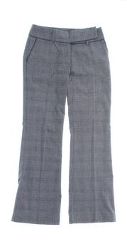 Dámské šedé kalhoty Orsay jemný vzor