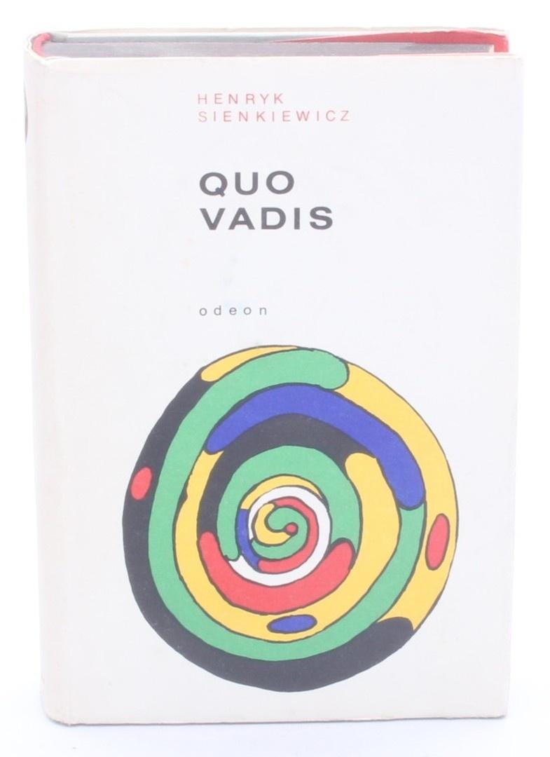 Kniha Henryk Sienkiewicz: Quo Vadis