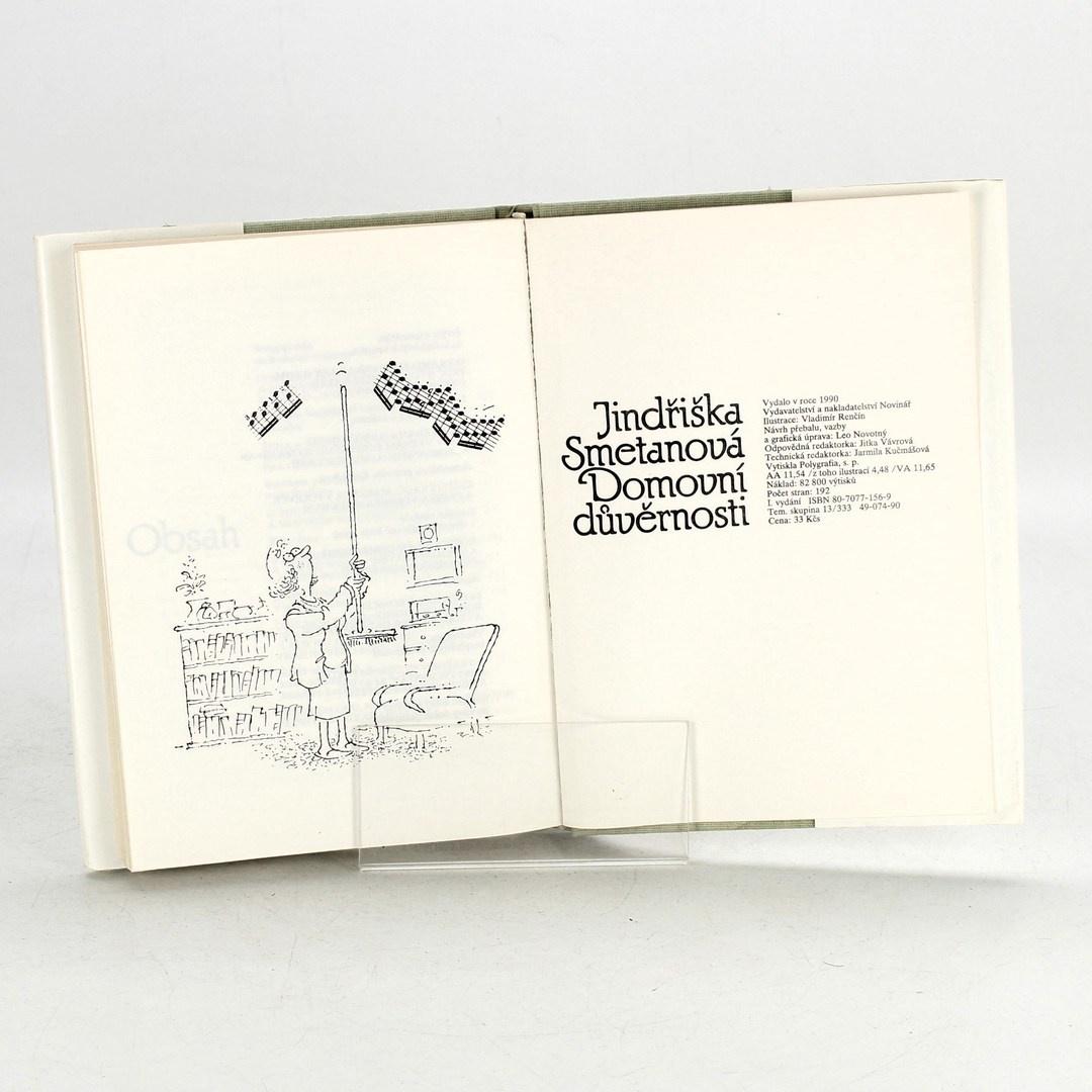 Kniha Jindřiška Smetanová: Domovní důvěrnosti
