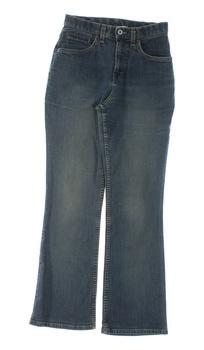 Dámské kalhoty džíny modré