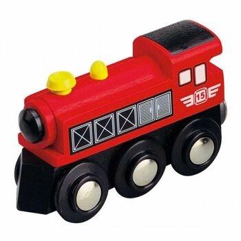 Dřevěná parní lokomotiva Maxim