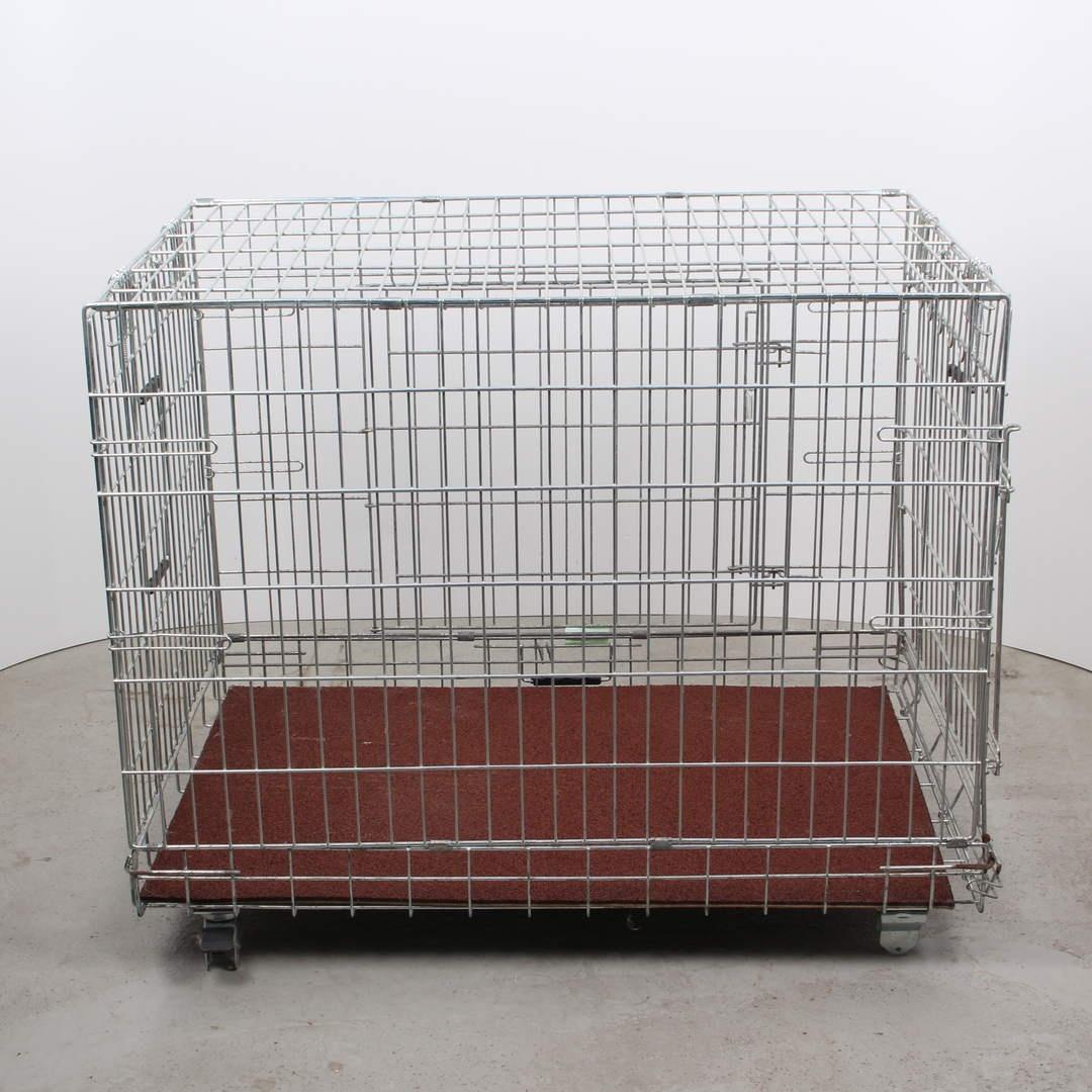 Skládací klec pro psa