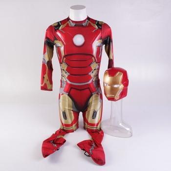 Pánský kostým Iron Man Large