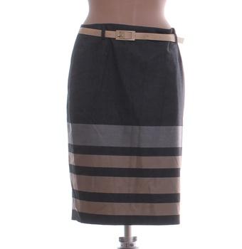 Dámská sukně Elite pruhovaná s páskem