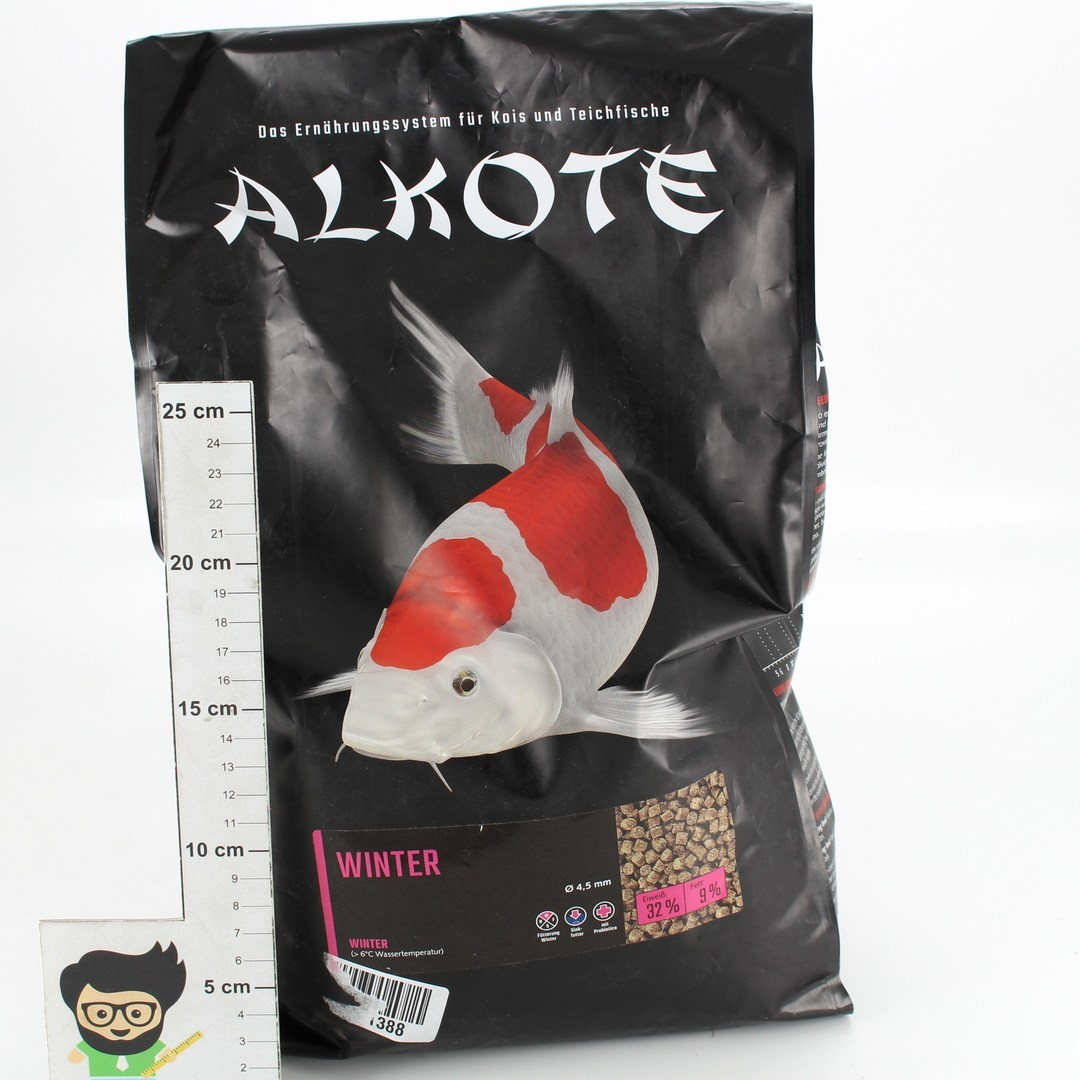 Krmivo pro ryby Alkote, 4,5 mm