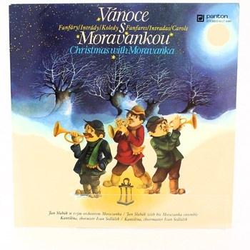 Gramofonová deska Vánoce s Moravankou