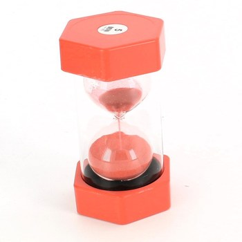 Přesýpací hodiny Schramm červené