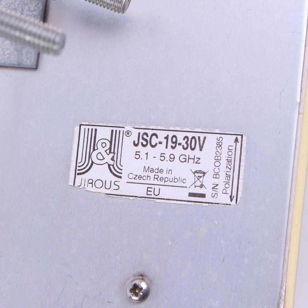Sektorová anténa Jirous JSC-19-30V