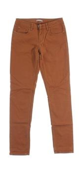 Dámské hnědé dlouhé džíny Orsay