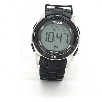 Digitální hodinky Secco černostříbrné 08c057e3a05