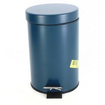Kovový odpadkový koš Kela 20528 modrý