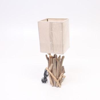 Lampička GURU-SHOP s dekorem dřeva