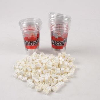 Plastové kostičky Simba bílé