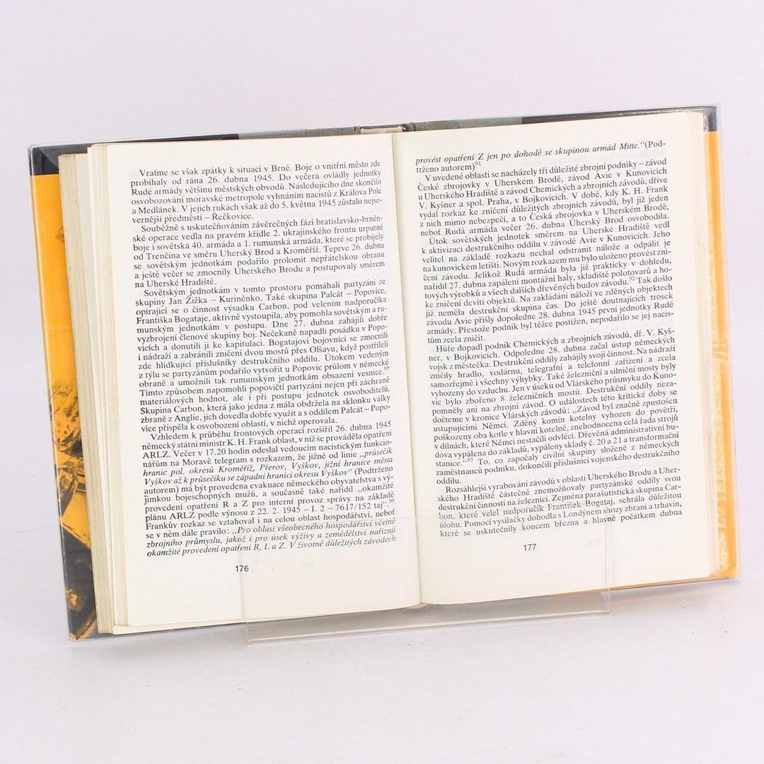Kniha Spálená země