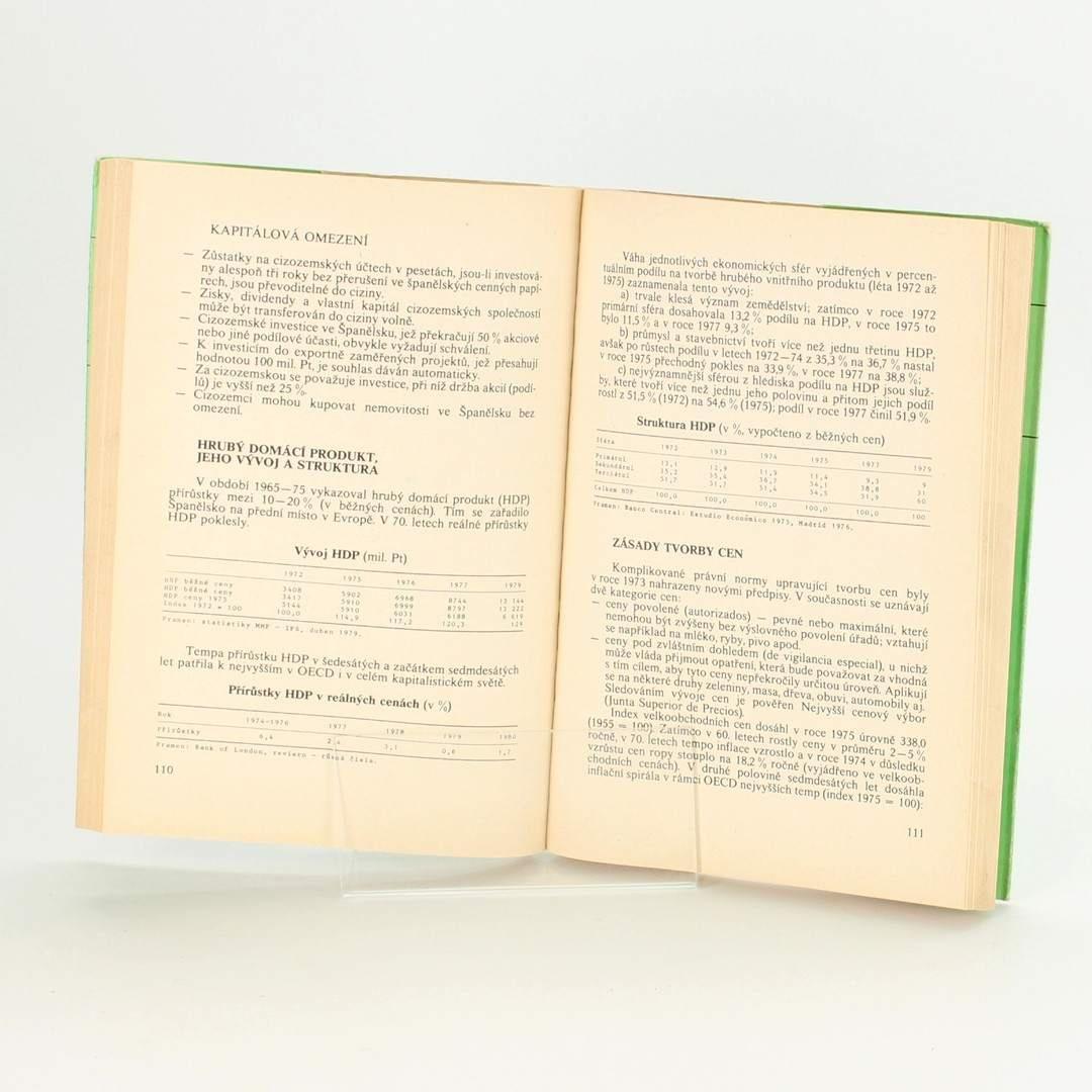 Kniha Španělsko Andora