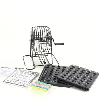 Bingo hra RelaxDays s loterijním bubnem