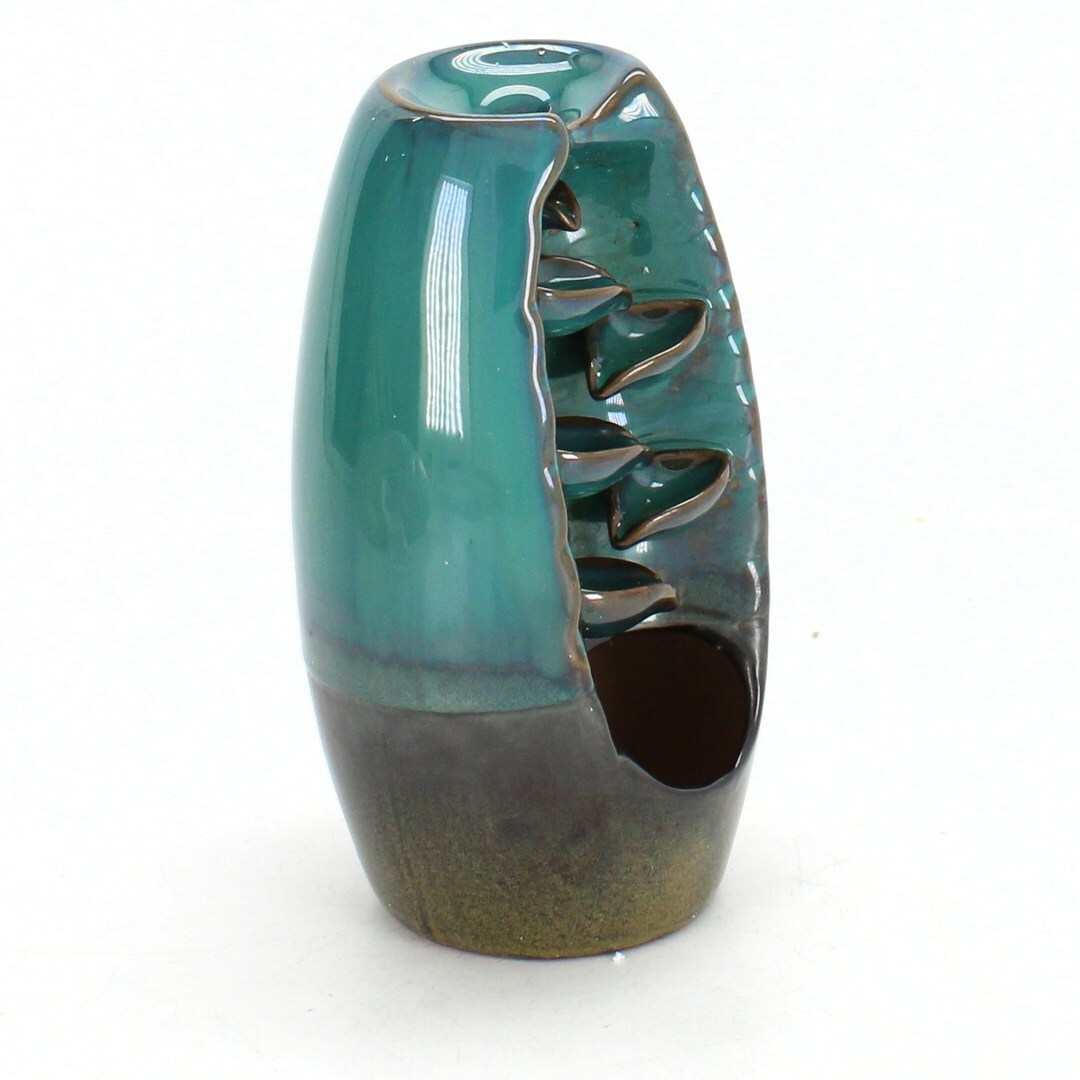 Aromalampa ComSaf, modrá, výška 18 cm