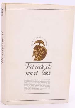 Kniha Klub čtenářů: Pět řeckých novel