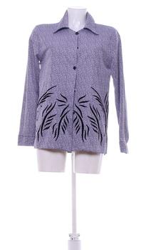 Dámská elegantní košile fialová