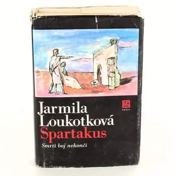 Kniha Spartakus Jarmila Loukotková