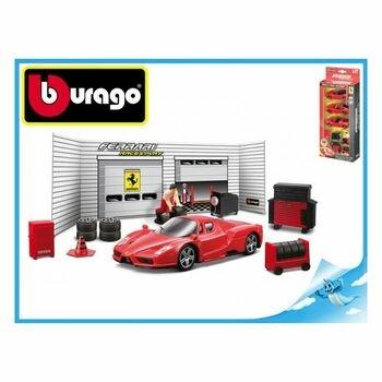 Autíčko BBurago Ferrari sada pneuservis