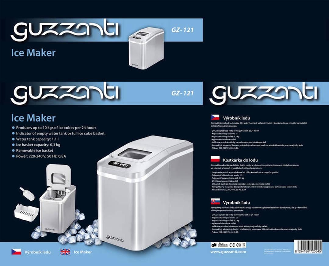 Výrobník ledu Guzzanti GZ 121