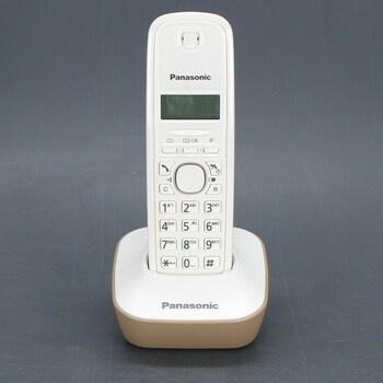 Bezdrátový telefon Panasonic KX-TG1611 ecru