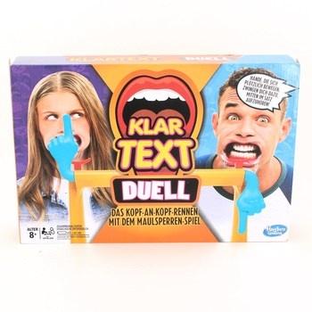 Společenská hra Hasbro Gaming Klartext Duell