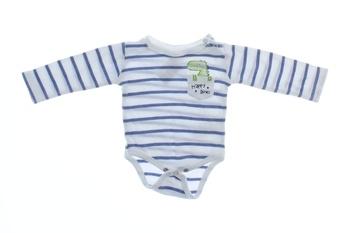 Dětské body Pepco modro bílé pruhované